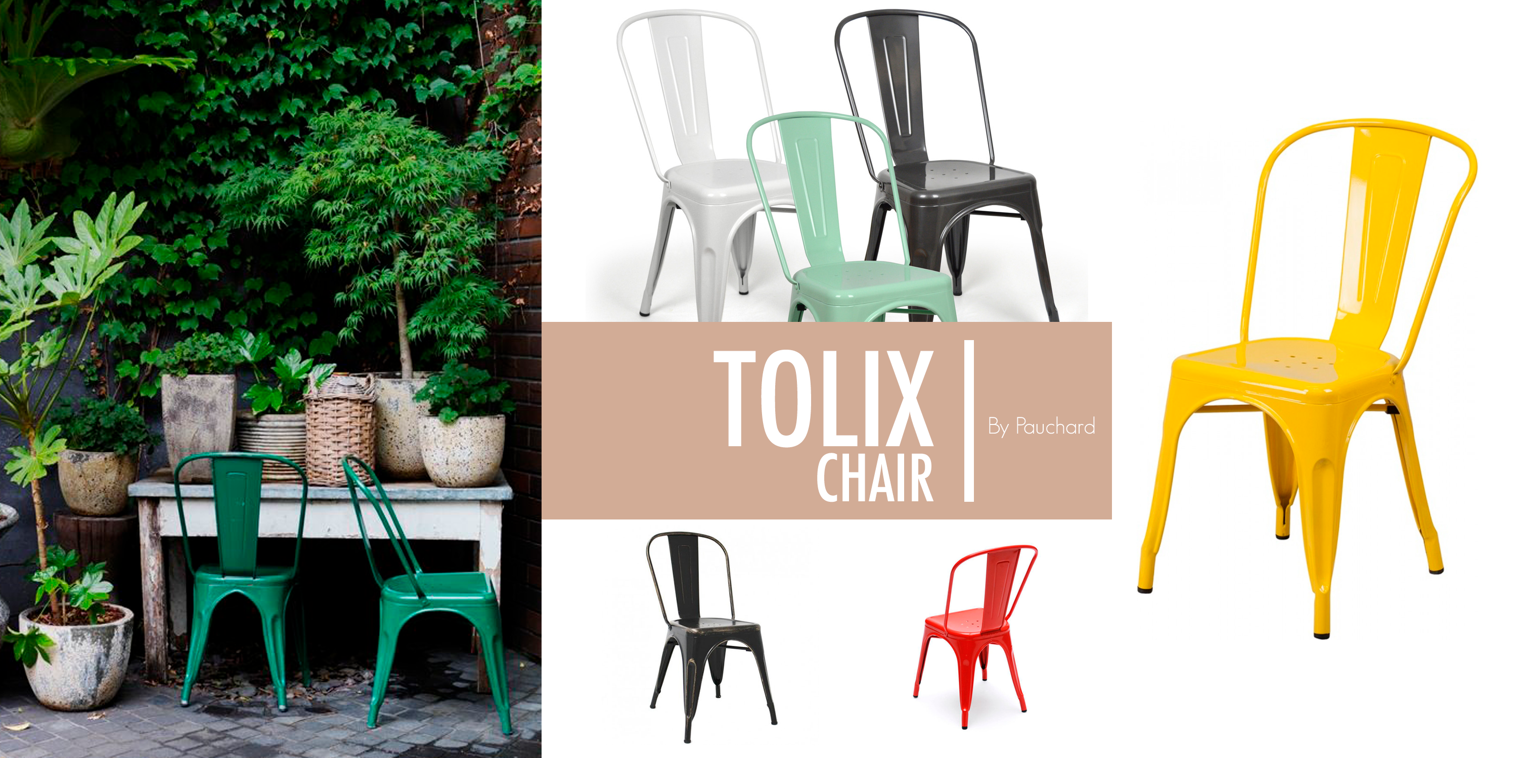 ``Tolix Chair`` by Pauchard