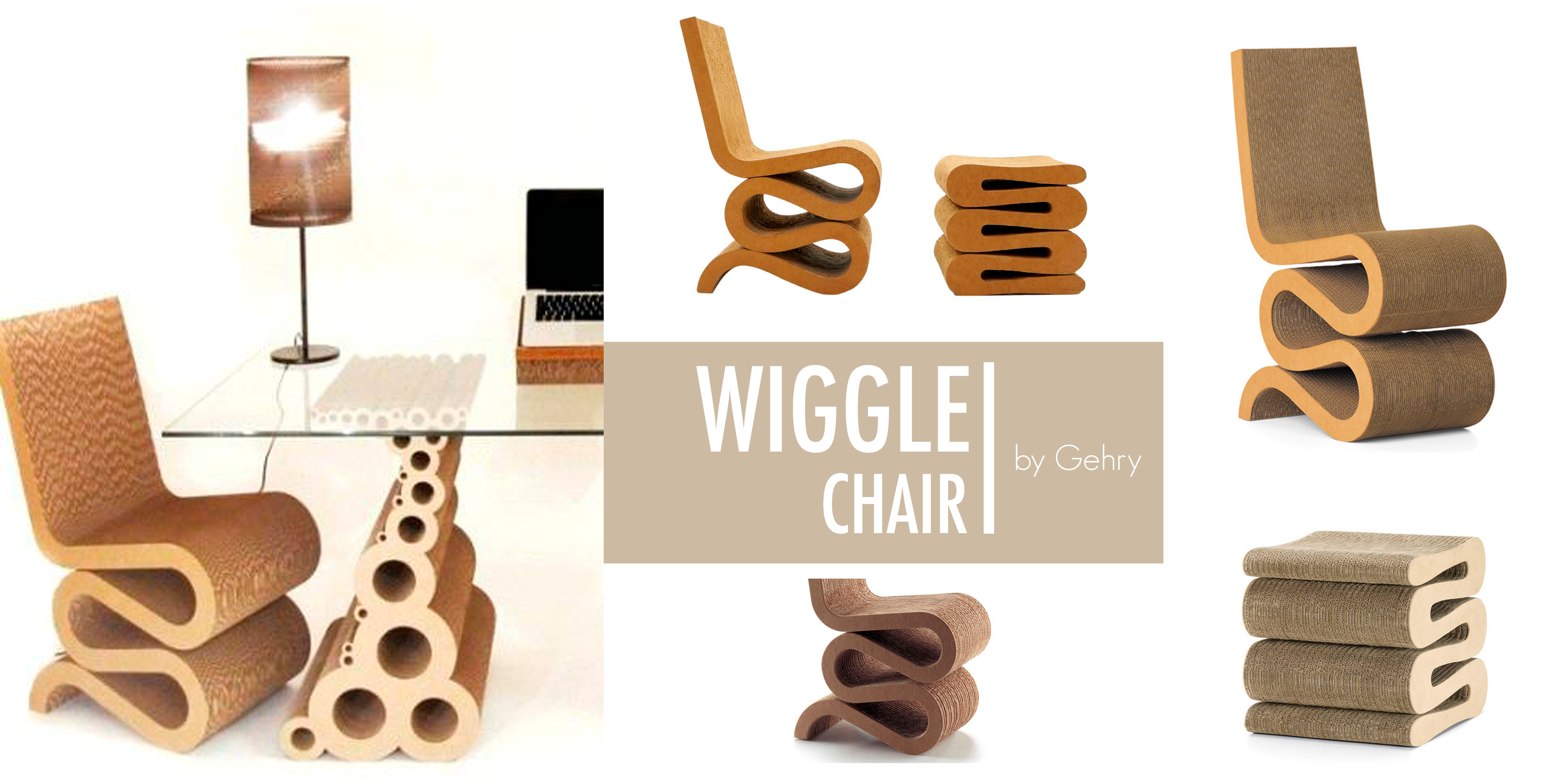 ``Wiggle Chair`` by Gehry