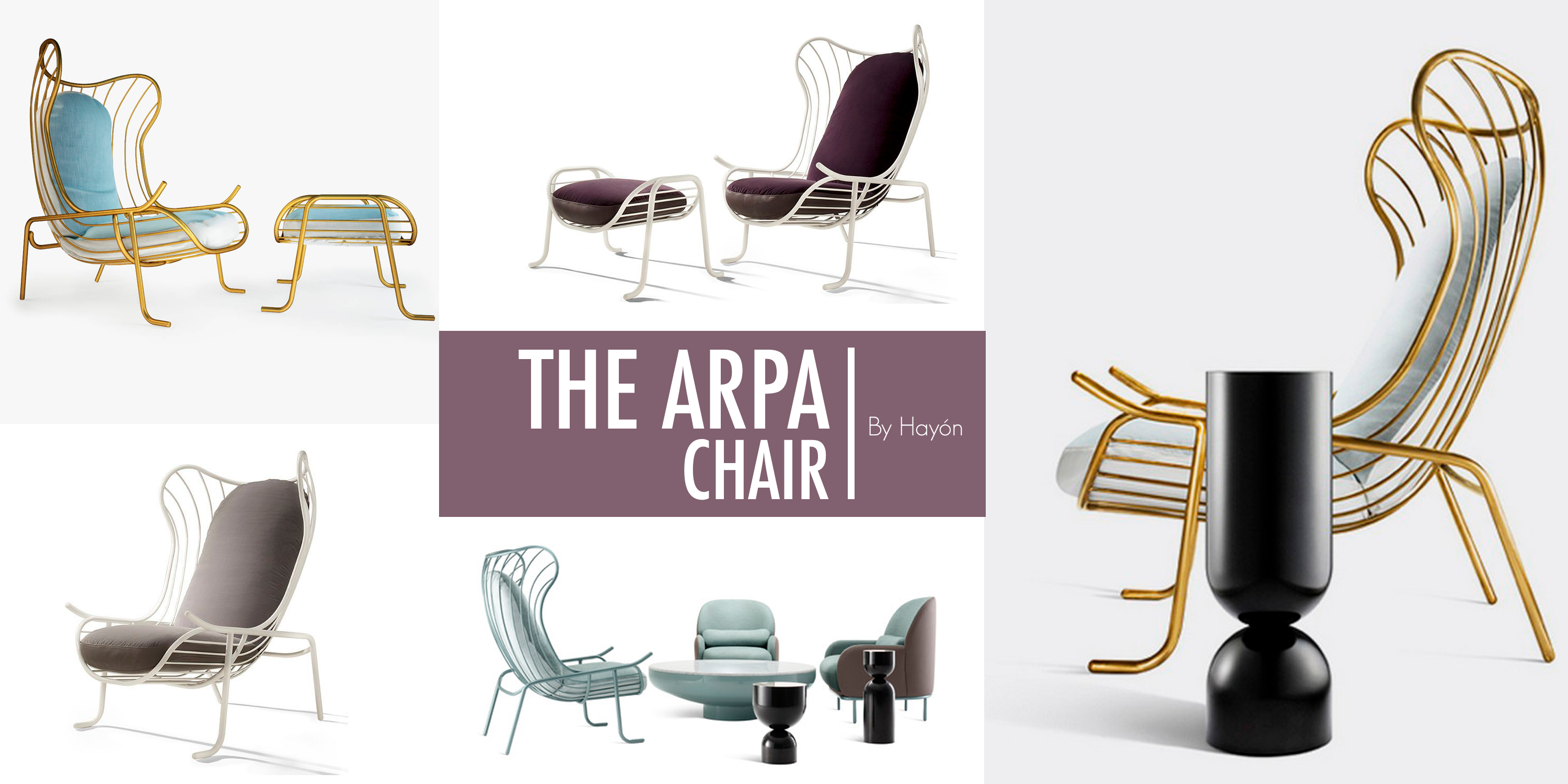 ``The Arpa Chair`` by Hayón